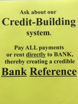 IMPROVE YOUR CREDIT, pay the BANK in Fort Leonard Wood, Missouri