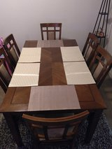 Dining table w/ chairs in Fort Carson, Colorado