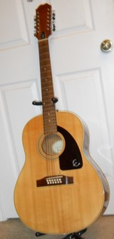Vintage Epiphone by Gibson 12 string acoustic guitar in DeRidder, Louisiana