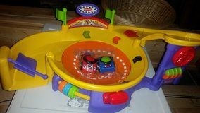 Toddler race track in Lockport, Illinois