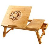 Adjustable Laptop Desk or Breakfast Serving Table with Fan and Drawer BRAND NEW in Stuttgart, GE