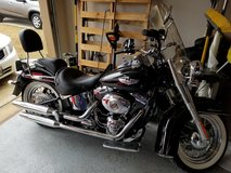 2014 Harley-Davidson Softtail Deluxe FLSTN in Lackland AFB, Texas