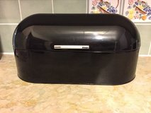 Black Bread Bin/Holder from Next in Lakenheath, UK