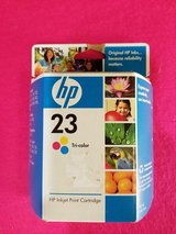 HP 23 Tri-color Original Ink Cartridge (C1823D) (T=40/9) in Clarksville, Tennessee