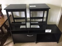 end tables, tv stand in Alamogordo, New Mexico