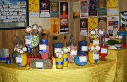 Decor items: glass containers and vases, candle holders, theme props in San Diego, California
