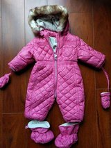 Chicco baby girl snowsuit size 6M in Schaumburg, Illinois