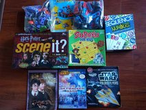 Boys construction and board games lot in Bartlett, Illinois