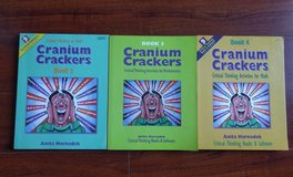 Cranium Crackers Critical thinking in Math Books 2, 3, 4 in Schaumburg, Illinois