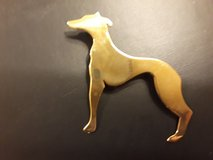 14kt gold Greyhound pendant in Yorkville, Illinois