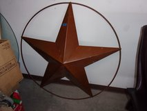 Five Point Metal Star Decoration in Fort Riley, Kansas