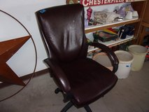 Leather Office Chair in Fort Riley, Kansas