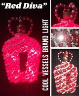 """RED DIVA"" Cool Vessels Brand Light in Lake Charles, Louisiana"