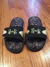 Under armour slides in Glendale Heights, Illinois