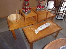 Coffee and End Tables Set in Fort Riley, Kansas