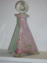 "6.5"" lavorazione murano bottle w/stopper in Bolingbrook, Illinois"