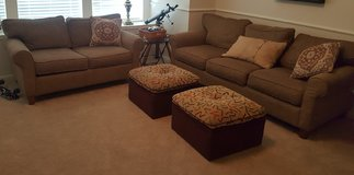 Living rm sofa and love seat. in Kingwood, Texas