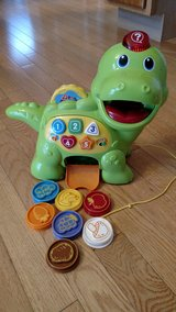 VTech Chomp and Count Dino in Sandwich, Illinois