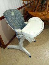 High chair in Fort Knox, Kentucky