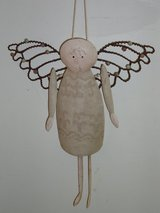"cute 12"" tin angel in Glendale Heights, Illinois"