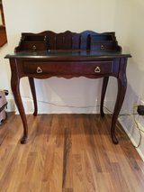 Perfect Little Brown Desk! in Naperville, Illinois