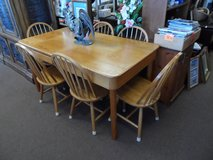 Solid Cyress Dining Table & 6 Chairs in Cherry Point, North Carolina