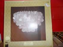 CHANDELIER - NEW IN BOX (RETAILS $129) in Cherry Point, North Carolina