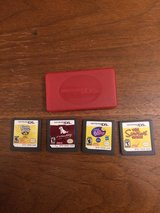 4 Nintendo DS games plus Case in Naperville, Illinois