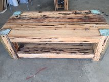 CUSTOM MADE RUSTIC COFFEE TABLE in 29 Palms, California