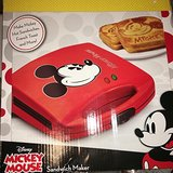 Mickey Mouse Sandwich Maker- Brand New in Box! in Travis AFB, California