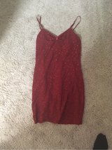 women's spaghetti strap red party dress in Bolling AFB, DC