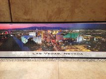 Framed Las Vegas picture puzzle in Vacaville, California