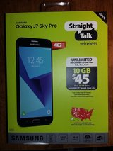 NIB Straight Talk Samsung Galaxy J7 Sky Pro in Beaufort, South Carolina