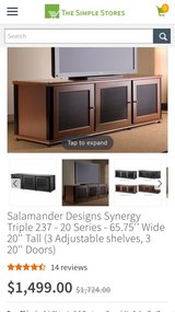 tv stand designer Salamander in Chicago, Illinois