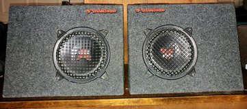 "Rockford Fosgate (2) 8"" Subs with Boxes in 29 Palms, California"