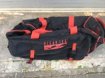Dive Bag great for travel in Okinawa, Japan
