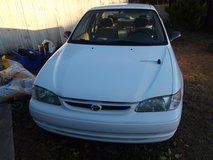 1999 Toyota Corolla **MOTOR SEIZED** NEW PAINT JOB TRANSMISSION GOOD FOR PARTS OR BODY in Camp Lejeune, North Carolina