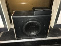 "12"" JVC sub and 1000 watt amp in Okinawa, Japan"