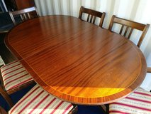Regency Style Dining Table And Six Chairs in Lakenheath, UK