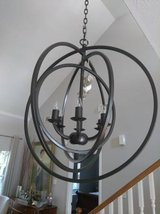 Modern Orb Chandelier in Conroe, Texas
