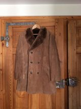 New Men Suede Jacket lined Size L in Ramstein, Germany