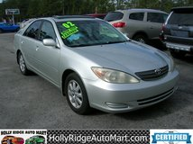 2002 Toyota Camry XLE-CLEAN!!! Recent oil change! 181k in Camp Lejeune, North Carolina