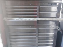 Craftsman Stainless Tool Chest in Byron, Georgia