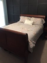 Queen Size Sleigh Bed in Warner Robins, Georgia