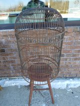 Antique Wrought Iron Bird Cage in Fort Leonard Wood, Missouri