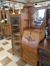 Oak Curio Desk Combination in Fort Leonard Wood, Missouri