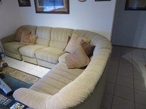 Sectional couch and matching chair in Ramstein, Germany