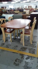 COUNTRY OAK TABLE&CHAIRS in Camp Lejeune, North Carolina