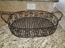 Large iron basket in Conroe, Texas