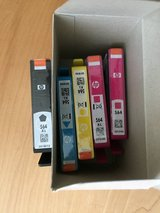 5 PK New HP 564 Genuine Ink Cartridges in Bartlett, Illinois